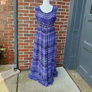 Calvin klein sleeveless long summer dress 14W